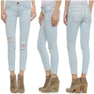 Current/Elliott | The Stiletto Shredded Jeans